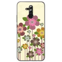 Funda Gel Tpu para Huawei Mate 20 Lite Diseño Primavera En Flor Dibujos