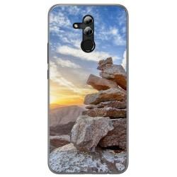 Funda Gel Tpu para Huawei Mate 20 Lite Diseño Sunset Dibujos