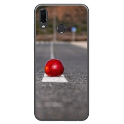 Funda Gel Tpu para Huawei Honor Play Diseño Apple Dibujos