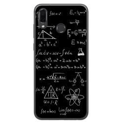 Funda Gel Tpu para Huawei Honor Play Diseño Formulas Dibujos
