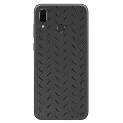 Funda Gel Tpu para Huawei Honor Play Diseño Metal Dibujos