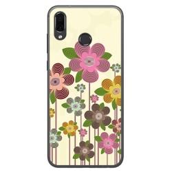 Funda Gel Tpu para Huawei Honor Play Diseño Primavera En Flor Dibujos