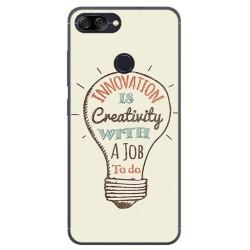 Funda Gel Tpu para Asus Zenfone Max Plus M1 Diseño Creativity Dibujos