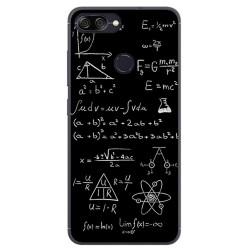Funda Gel Tpu para Asus Zenfone Max Plus M1 Diseño Formulas Dibujos