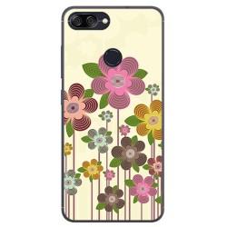 Funda Gel Tpu para Asus Zenfone Max Plus M1 Diseño Primavera En Flor Dibujos