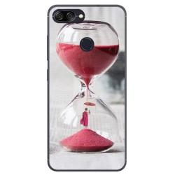 Funda Gel Tpu para Asus Zenfone Max Plus M1 Diseño Reloj Dibujos