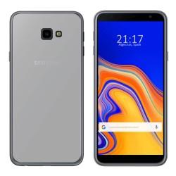 Funda Gel Tpu para Samsung Galaxy J4+ Plus Color Transparente