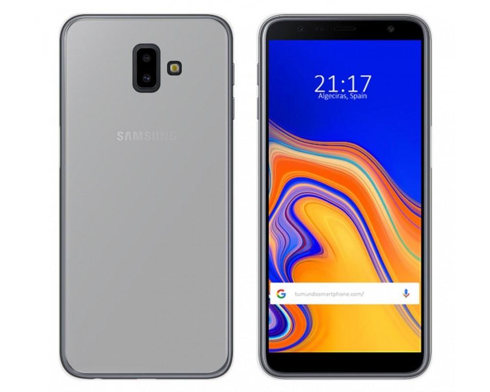 8ebd44b0345 Funda Gel Tpu Silicona Transparente Samsung Galaxy J6+ Plus |Envio ...