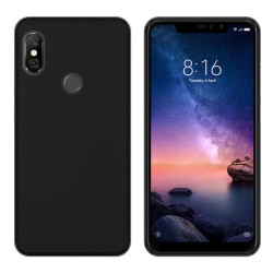 Funda Gel Tpu para Xiaomi Redmi Note 6 Pro Color Negra