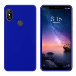 Funda Gel Tpu para Xiaomi Redmi Note 6 Pro Color Azul