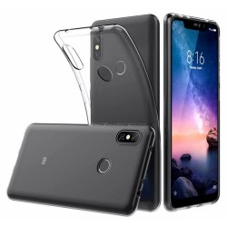 Funda Gel Tpu Fina Ultra-Thin 0,5mm Transparente para Xiaomi Redmi Note 6 Pro