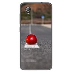 Funda Gel Tpu para Alcatel 1 / Orange Rise 54 / Vodafone Smart E9 Diseño Apple Dibujos