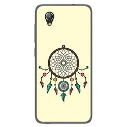 Funda Gel Tpu para Alcatel 1 / Orange Rise 54 / Vodafone Smart E9 Diseño Atrapasueños Dibujos
