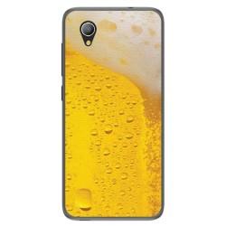 Funda Gel Tpu para Alcatel 1 / Orange Rise 54 / Vodafone Smart E9 Diseño Cerveza Dibujos