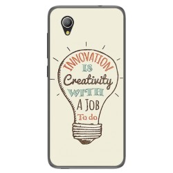 Funda Gel Tpu para Alcatel 1 / Orange Rise 54 / Vodafone Smart E9 Diseño Creativity Dibujos