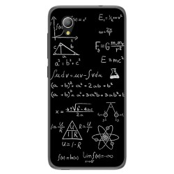 Funda Gel Tpu para Alcatel 1 / Orange Rise 54 / Vodafone Smart E9 Diseño Formulas Dibujos