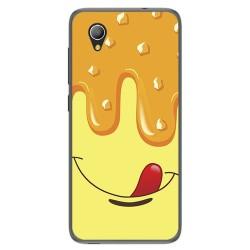 Funda Gel Tpu para Alcatel 1 / Orange Rise 54 / Vodafone Smart E9 Diseño Helado Vainilla Dibujos