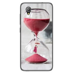 Funda Gel Tpu para Alcatel 1 / Orange Rise 54 / Vodafone Smart E9 Diseño Reloj Dibujos