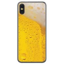 Funda Gel Tpu para Doogee X53 Diseño Cerveza Dibujos