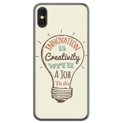 Funda Gel Tpu para Doogee X53 Diseño Creativity Dibujos
