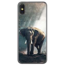 Funda Gel Tpu para Doogee X53 Diseño Elefante Dibujos