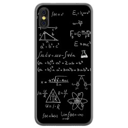 Funda Gel Tpu para Doogee X53 Diseño Formulas Dibujos