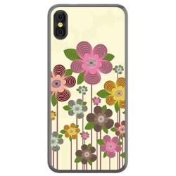 Funda Gel Tpu para Doogee X53 Diseño Primavera En Flor Dibujos
