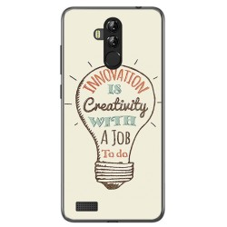 Funda Gel Tpu para Leagoo M9 Pro Diseño Creativity Dibujos