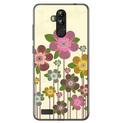 Funda Gel Tpu para Leagoo M9 Pro Diseño Primavera En Flor Dibujos