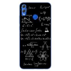 Funda Gel Tpu para Huawei Honor 8X Diseño Formulas Dibujos