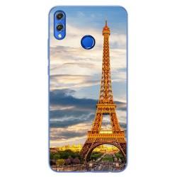 Funda Gel Tpu para Huawei Honor 8X Diseño Paris Dibujos