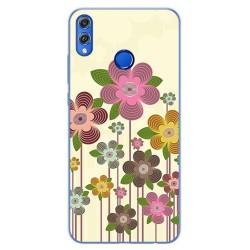 Funda Gel Tpu para Huawei Honor 8X Diseño Primavera En Flor Dibujos