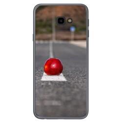 Funda Gel Tpu para Samsung Galaxy J4+ Plus Diseño Apple Dibujos