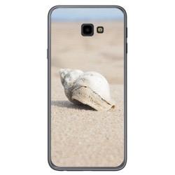 Funda Gel Tpu para Samsung Galaxy J4+ Plus Diseño Concha Dibujos