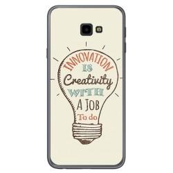 Funda Gel Tpu para Samsung Galaxy J4+ Plus Diseño Creativity Dibujos