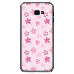 Funda Gel Tpu para Samsung Galaxy J4+ Plus Diseño Flores Dibujos