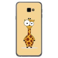 Funda Gel Tpu para Samsung Galaxy J4+ Plus Diseño Jirafa Dibujos