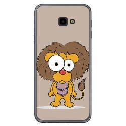 Funda Gel Tpu para Samsung Galaxy J4+ Plus Diseño Leon Dibujos
