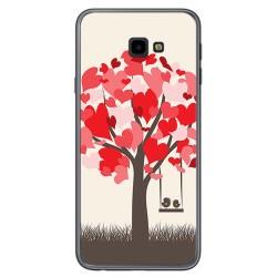 Funda Gel Tpu para Samsung Galaxy J4+ Plus Diseño Pajaritos Dibujos
