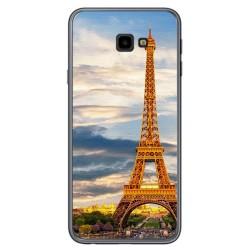 Funda Gel Tpu para Samsung Galaxy J4+ Plus Diseño Paris Dibujos