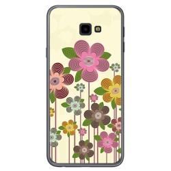 Funda Gel Tpu para Samsung Galaxy J4+ Plus Diseño Primavera En Flor Dibujos