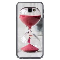 Funda Gel Tpu para Samsung Galaxy J4+ Plus Diseño Reloj Dibujos