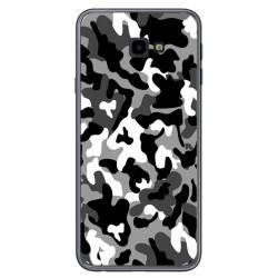 Funda Gel Tpu para Samsung Galaxy J4+ Plus Diseño Snow Camuflaje Dibujos
