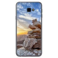 Funda Gel Tpu para Samsung Galaxy J4+ Plus Diseño Sunset Dibujos