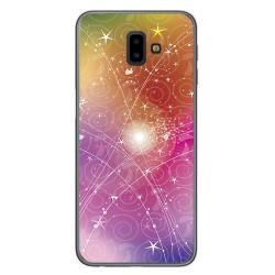 Funda Gel Tpu para Samsung Galaxy J6+ Plus Diseño Abstracto Dibujos