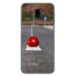 Funda Gel Tpu para Samsung Galaxy J6+ Plus Diseño Apple Dibujos