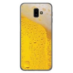 Funda Gel Tpu para Samsung Galaxy J6+ Plus Diseño Cerveza Dibujos
