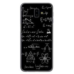 Funda Gel Tpu para Samsung Galaxy J6+ Plus Diseño Formulas Dibujos