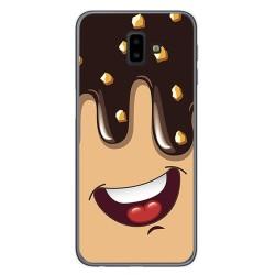 Funda Gel Tpu para Samsung Galaxy J6+ Plus Diseño Helado Chocolate Dibujos