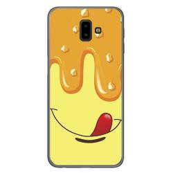 Funda Gel Tpu para Samsung Galaxy J6+ Plus Diseño Helado Vainilla Dibujos